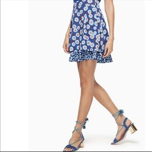 Kate Spade Tangier Floral Double Layer Skirt